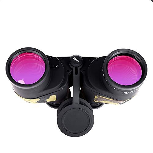 L.TSA Binoculares 10X50 Zoom Profesional Telémetro Binoculares Telescopio Militar eléctrico Binoculares Prisma...