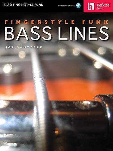 Fingerstyle Funk Bass Lines (Book & CD): Noten, CD, Lehrmaterial für Bass-Gitarre (Bass: Fingerstyle Funk)