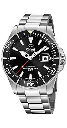 (Reloj JAGUAR Executive Automático (Swiss Made) ((Negro) J886/3)