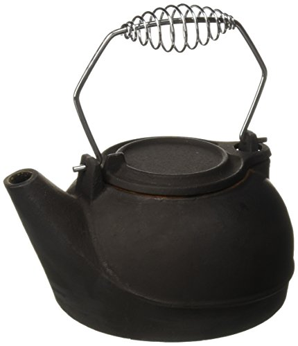 Vogelzang TK-02 Fireplace Kettles, Cast Iron, 3 Quart,Black