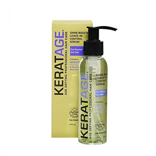 Keratage Shine Booster Leave In Control Serum 4 oz by Keratage