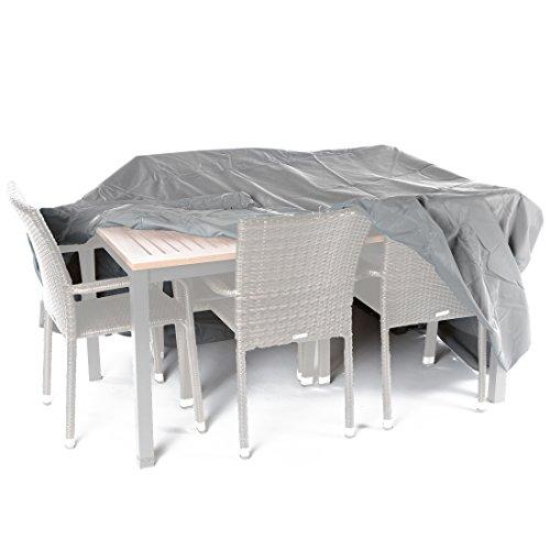 Ultranatura Gewebeschutzhülle für Gartenmöbel Sylt, robuste Abdeckung aus wasserdichtem Polyester, ca. 235 x 135 x 94 cm