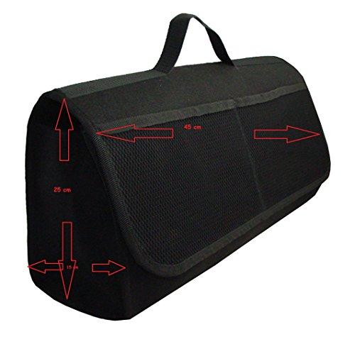 EJP-Bag Praktische Kofferraumtasche in Schwarz groß für jedes Fahrzeug Passend für CLK W209