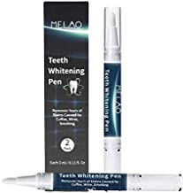 NVEDEN Teeth Whitening Kit With 2 Teeth Whitener Pens, More Than 20 Uses, Effective, Painless, No Sensitivity, Travel Friendly, Easy to Use, Beautiful White Smile, Natural Mint Flavor