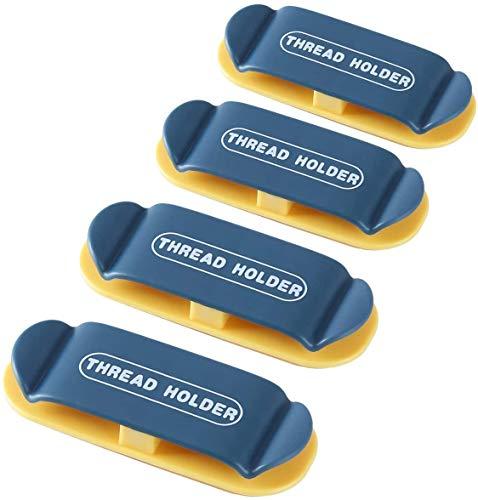 home magic Clips Organizador de Cables Autoadhesivo - [4 Piezas] clips para cables duraderos, para cables de alimentación y cables accesorios de carga, cable de mouse, PC, oficina y hogar