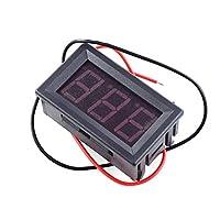 0.56インチDC2.5V-40.0V2線式デジタル電圧計ヘッドLEDデジタル電圧計青