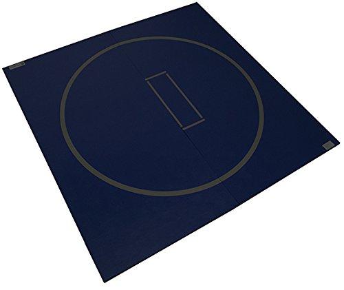 Dollamur 10'x10′ Flexi-Roll Wrestling Home Mat (Black)