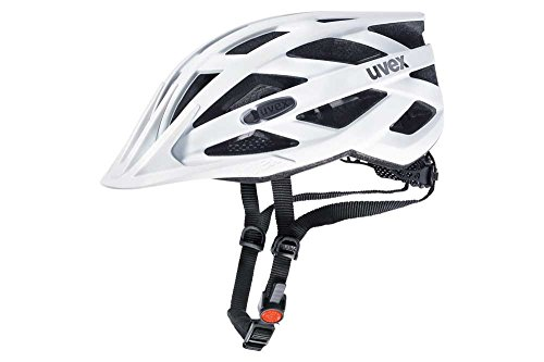 Uvex Unisex– Erwachsene, i-vo cc Fahrradhelm, white mat, 52-57 cm