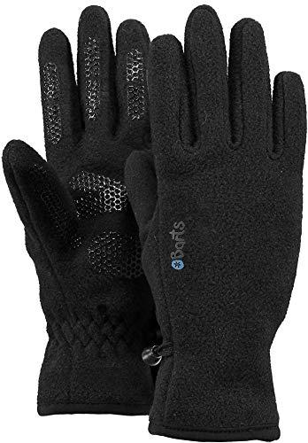 BARTS Fleece Glove Kids Guantes, Negro (BLACK 0001), 90 (Talla del fabricante: 3) para Niños