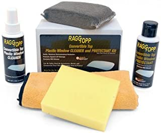 Raggtopp Convertible Top Plastic Window Cleaner and Protectant Kit 01162