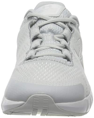 Under Armour Micro G Pursuit, Zapatillas para Correr de Carretera Mujer, Halo Gris Blanco Blanco 104, 41 EU