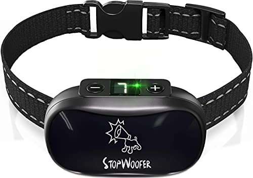STOPWOOFER Dog Training Collar with Sport Dog Remote Trainer For Small Medium & Large Dogs