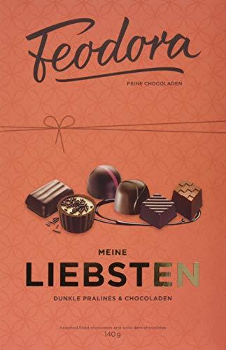 Feodora Meine Liebsten. Dunkle Pralinés & Chocoladen, 140 G