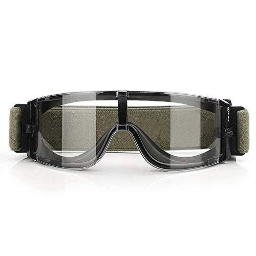 Gafas antiniebla de seguridad tipo táctico, militar, balístico o de protección para bicicleta o moto