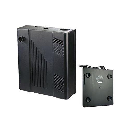 takestop Filtro biológico interno bf-1086W 340L/H 0.6m completo Bomba Esponja Carbón medios para Acuario con compartimiento Calefactor