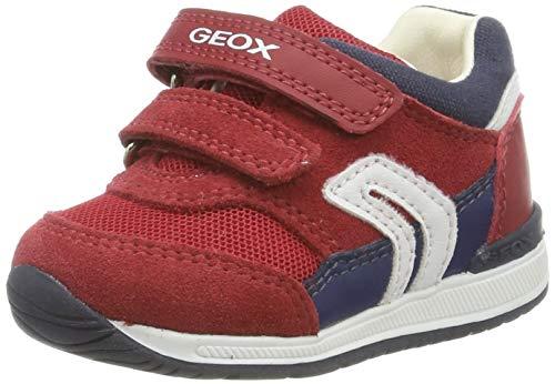 Geox Baby Jungen B RISHON Boy A Sneaker, Rot (Dk Red/Navy C7mf4), 21 EU