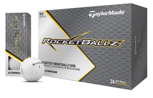 TaylorMade Rocketballz Speed Golf Balls (Two Dozen)