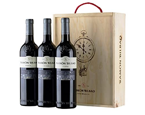 Ramón Bilbao Reserva - Vino tinto - D.O. Rioja - Pack 3 botellas de 750 ml