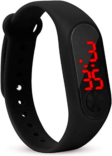 Styllent Digital Black Color LED Watch for Boys and Girls - 2010-1