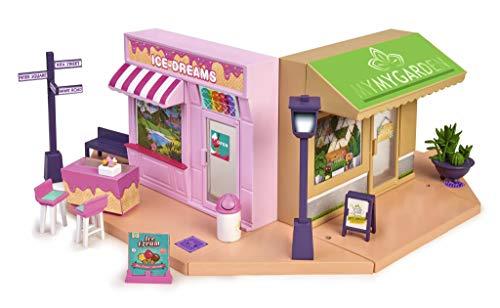 Mymy City- Yummy Shopping, Set de Tiendas de Juguete con Accesorios (Famosa 700015840)