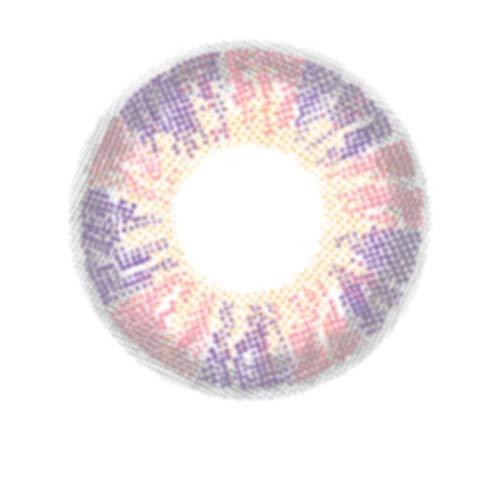 Matlens – EOS Farbige Kontaktlinsen ohne Stärke pink rosa Big eyes PASTEL 2 Linsen 1 Kontaktlinsenbehälter 1 Pflegemittel 50ml