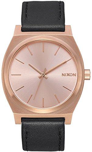 Nixon Herren Analog Quarz Uhr mit Leder Armband A045-1932-00