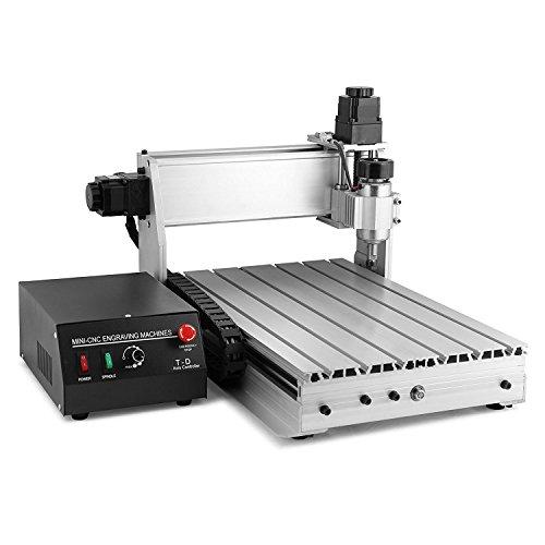 Machine de gravure et fraisage à commande numérique par ordinateur - 4030T - 4 axes - 400 x 300 mm - Commande précise