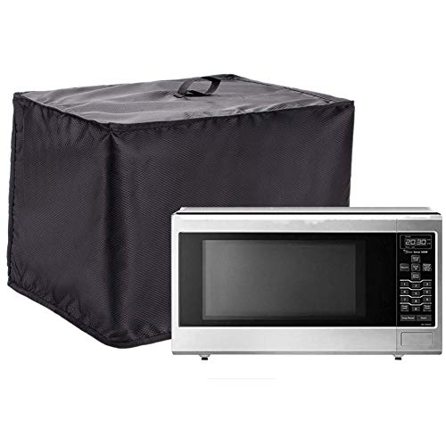 "Microwave Cover, Heavy Duty Waterproof Toaster Oven Cover, 18.5""x13.7""x13.7"" Kitchen Appliance Cover Compatible with Cusinart Oven, Ice Cream Machine, Gift for Mom JJZ318"