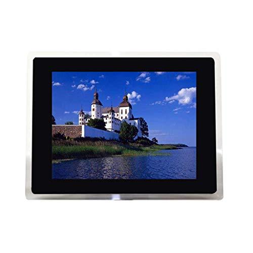 ZGYQGOO Digitaler Fotorahmen 15-Zoll-HD-Digitaler Bilderrahmen HD-elektronisches Fotoalbum Elektronisches 1024 * 768 transparentes USB- und SD-Kartensteckplatz und Fernbedienung