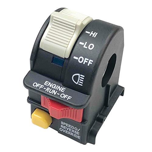 Bin Zhang Conjunto de interruptor de manillar izquierdo para Polaris 4011835 4010591 4010560 2010340 4010592 4011385