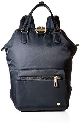 Pacsafe Citysafe CX Mini Backpack, Mini-Rucksack mit Diebstahlschutz, Rucksack mit Sicherheits-Features, 11 Liter, Schwarz / Black