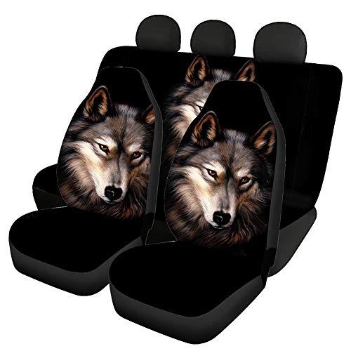 Agroupdream Agroupdream Sitzbezug, polyester, Wolf Schwarz, Stück: 1