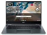 Acer Chromebook Spin 514 - Ordenador Portátil táctil convertible 14' FullHD (AMD Athlon N3050C, 4GB RAM, 64GB SSD, UMA Graphics, Chrome OS) Color Plata - Teclado QWERTY español