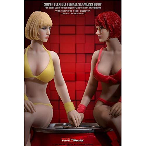 """1//6 Seamless Body Sous-vêtements Vêtement Ensemble un pour 12/"""" FEMALE action figure doll"""