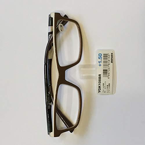 YGK108/BONOX/ダルトン/おしゃれ/老眼鏡/シニアグラス/Reading Glasses/ (1.0, BR)