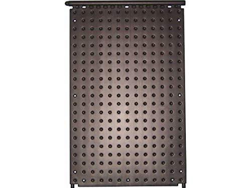 Pool Schwimmbad OKU-Absorber F1000, schwarz mit 2 Anschlussstutzen, d 25 mm und einseitig integriertem Sammelrohr d=40 mm, Abmessung 1320 x 820 mm