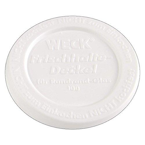 10x WECK-Frischhalte-Deckel RR100