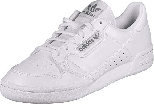 adidas Originals Continental 80 J Blanco/Gris Uno Cuero 35.5 EU