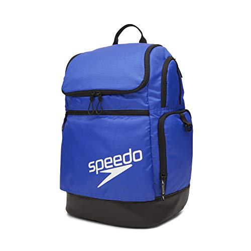 Speedo Large Teamster Backpack 35-Liter, Blue 2.0, One Size
