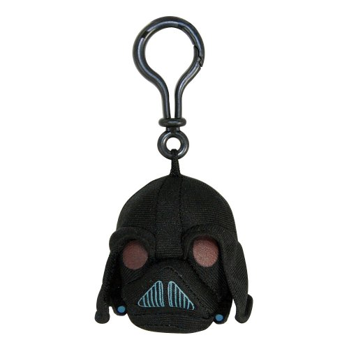 Angry Birds Star Wars Plush Backpack Clip - Darth Vader