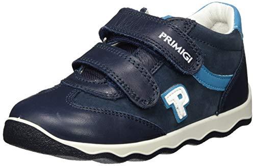 Primigi Pin 63558, First Walker Shoe Bebé-Niños, Navy/Notte, 21 EU