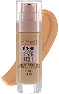 MAYBELLINE NEW YORK DREAM SATIN LIQUID FOUNDATION SPF 13 (21 NUDE)