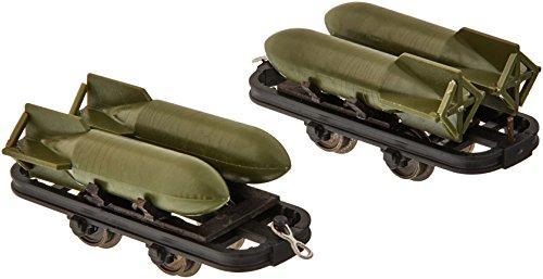 Busch - BUE12209 - Modélisme - 3 Wagons Chargés de Bombes