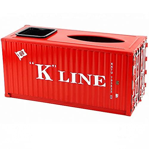Hmvlw soporte para caja de pañuelos Una caja de tejido con cajas de almacenamiento de papelería en el escritorio.Caja de servilleta multifuncional.Caja de tejido de escritorio para almacenar cosmético