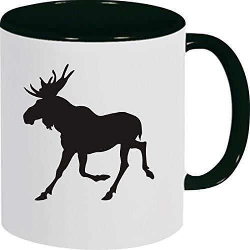 Shirtstown koffiepot, dieren hert eland, kopje Pott koffiekopje theekopje spreuk logo