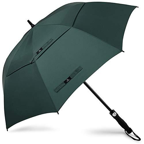 Prospo 62/68 Inch Oversized Auto-Open Golf Paraplu Dubbele luifel Geventileerd Grote Winddichte Paraplu Waterdichte Stick Paraplu's
