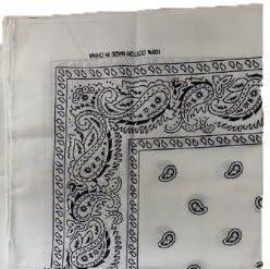 Bravehope Hot bicicletta fascia Outdoor foulard cotone anacardi quadrato asciugamano Amoeba foulard