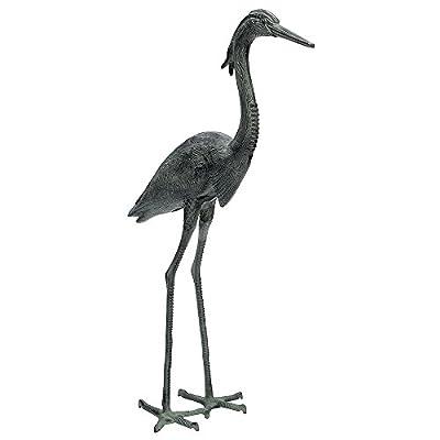 Achla Designs Great Blue Heron Garden Statue