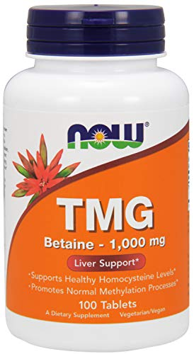 TMG, 1000 mg, 100 Tabs by Now Foods (Pack of 3)
