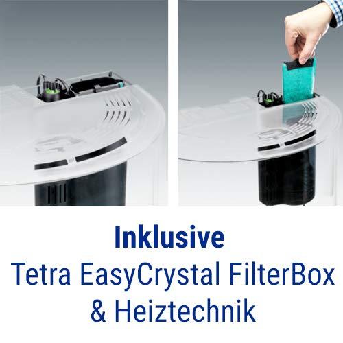 Tetra AquaArt Explorer Line Aquarium Komplett-Set 60 Liter anthrazit (gewölbte Frontscheibe, langlebige LED-Beleuchtung, ideal für die Haltung von tropischen Zierfischen) - 5